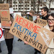 Lietuvos jaunimas jungiasi į klimato kaitos protestus, bet gana pasyviai