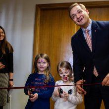 Patogi naujovė Vidaus reikalų ministerijoje – vaikų kambarys