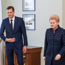 Prezidentė paskyrė K. Mažeiką aplinkos ministru