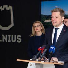 R. Šimašius pristatė koalicijos darbų programą: ką žada miesto ateičiai?