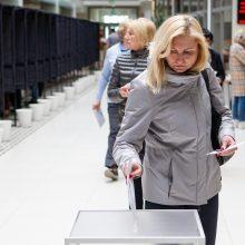 Renkami trys nauji Seimo nariai: valią pareiškė pusė procento rinkėjų