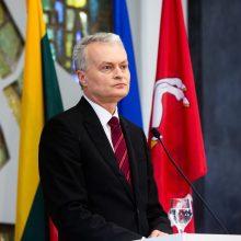 G. Nausėda sako esąs už Seimo rinkimus pavasarį