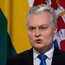 G. Nausėda vyksta į Pasaulio ekonomikos forumą Davose