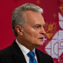 Jau aišku, kada G. Nausėda vyks pirmojo vizito į Lenkiją