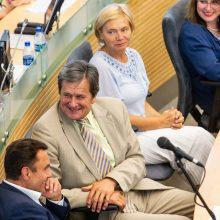 Seimas nenori siaurinti parlamentarų, teisėjų, ministrų teisinio imuniteto