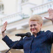 Konservatoriai siūlo dirbti į Europos Komisiją siųsti D. Grybauskaitę