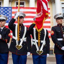 JAV perduoti trijų Antrojo pasaulinio karo aukų palaikai, rasti Lietuvoje