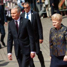 Prezidentūra: Lietuva turi siekti, kad D. Grybauskaitė vadovautų NATO