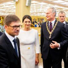 D. Grybauskaitės žinia: G. Nausėdai teks atsakomybė saugoti Konstituciją