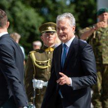 Prezidentas Rukloje susitiks su Lietuvos ir sąjungininkų kariais