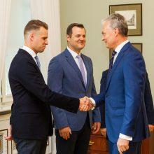 G. Landsbergis: prezidentas parodė gerą pavyzdį Vyriausybei