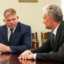 G. Nausėda pasigenda argumentų dėl Žemės ūkio ministerijos perkėlimo į Kauną