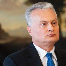 G. Nausėda apie posto netekusį R. Masiulį: jis neturėjo palaikymo Seime