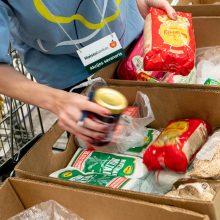 """""""Maisto bankas"""" kviečia dalytis per karantiną sukauptomis atsargomis"""