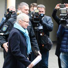 N. Venckienės byloje pateikta civilinių ieškinių už 100 tūkst. eurų