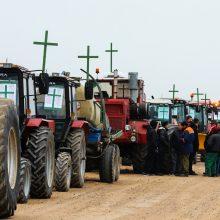Lietuvos ūkininkai išsiruošė į protestą Briuselyje