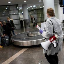 Vilniuje nusileido lėktuvai su lietuviais