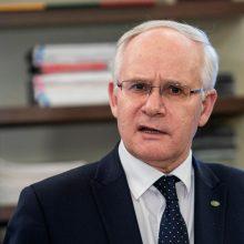 Ministras: intensyviai dirbama ruošiant nuotolinio mokymo galimybes kitiems metams