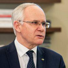 Ministras: egzaminai vyks, jei karantinas baigsis iki birželio