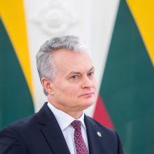 Prezidentas: kruvini protestai Baltarusijoje privalo baigtis
