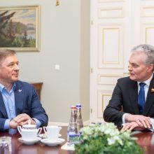 R. Karbauskis ragina G. Nausėdą nebeužstoti patarėjų: jie kenkia reputacijai