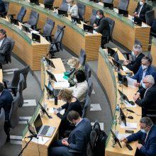Apžvelgė Seimo narių išlaidas per karantiną: išlaidaudami išgelbėjome valstybę