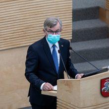 Siūlo steigti naują Seimo apdovanojimą – A. Stulginskio medalį