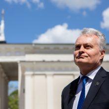 Prezidentūra: G. Nausėda pasisako už veiksmingas sankcijas Baltarusijai