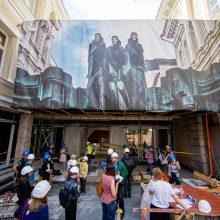 Dramos teatras įpusėjo rekonstrukciją: į pirmąją premjerą kvies pavasarį