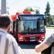 Sostinė atnaujina viešąjį transportą – pasipildys 50 naujų autobusų