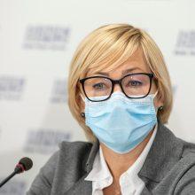"""Opozicija kritikuoja argumentus dėl """"Tūkstantmečio mokyklų"""": ministrė nesiorientuoja"""