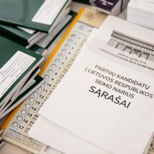 VRK kviečia izoliacijoje esančius rinkėjus registruotis balsuoti namuose