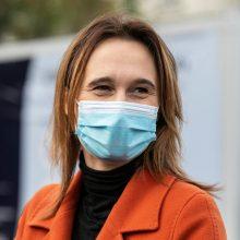 V. Čmilytė-Nielsen užbaigė pirmąjį užsienio vizitą Latvijoje