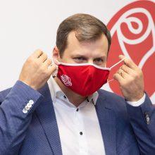 Socialdemokratai gegužę rinks naują partijos pirmininką