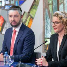 Laisvės partiją nustebino Seimo pirmininkės pareiškimas dėl galimybių paso