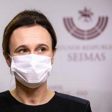 V. Čmilytė-Nielsen sako turinti planą, kaip užglaistyti konfliktą Seime