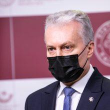 """Prezidentas: L. Linkevičiui ir R. Karobliui reikalingas """"atšalimo laikotarpis"""""""
