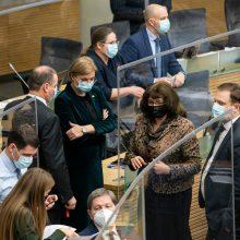 """""""Valstiečiai"""" traukiasi iš rinkimų pertvarkos darbo grupės Seime"""