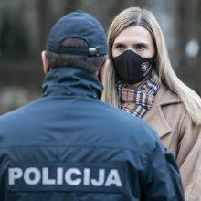 Ministrė: pagrindinis policijos tikslas – ne nubausti, o paaiškinti