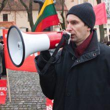 Įtariamas Rusijos šnipas A. Paleckis į laisvę dar neištrūks?