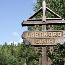 Labanoro girioje – žygis prieš kirtimus saugomose teritorijose