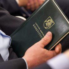 Į priekį juda individualaus konstitucinio skundo įteisinimas