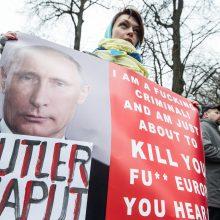 Lietuvoje mažėja neigiamas Rusijos prezidento V. Putino vertinimas