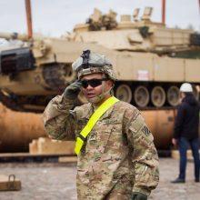 Svarbi diena: Lietuvoje dislokuojamos didelės JAV pajėgos – kariai ir tankai