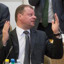 S. Skvernelis apie R. Pakso vizitą į Maskvą: tai yra be komentarų