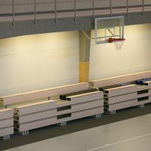 Dalis mokyklų nebeprivalės turėti sporto salių