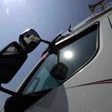 Kauno policija tiria neteisėtą vilkiko vairuotojo laisvės atėmimą