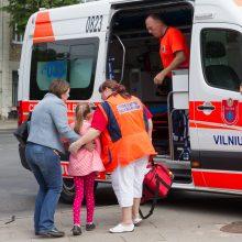 Vilniuje susidūrė trys automobiliai: nukentėjo vaikai