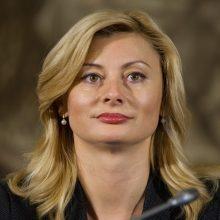 R. Tamašunienė – buvusi mokytoja, tapusi vienintele Vyriausybės moterimi