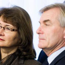 R. Baškienė į Seimo pirmininkus taip pat nesiveržia